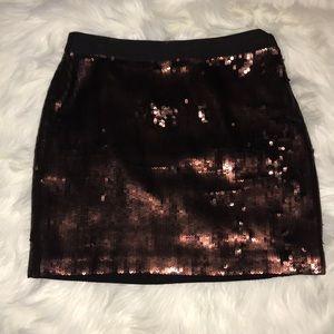 Banana Republic sequin skirt size 4